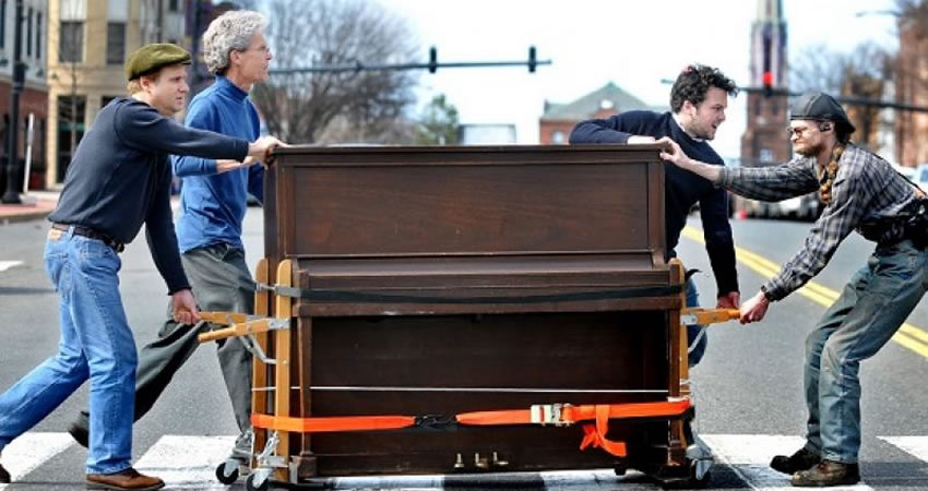 Moving a Piano with Storage Facility Junction City KS
